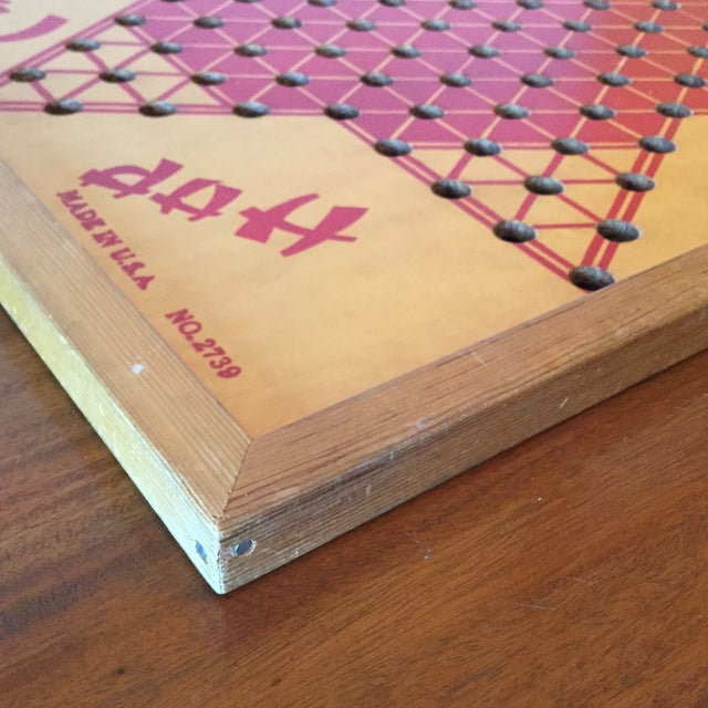 Vintage Wooden Chinese Checkers Board - Image 9 of 11