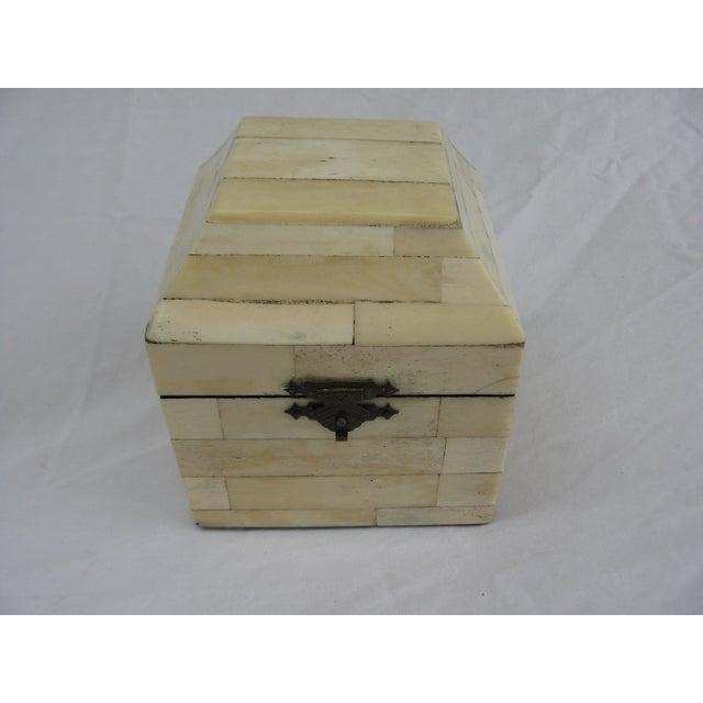 Chinese Bone Inlay Box - Image 5 of 9