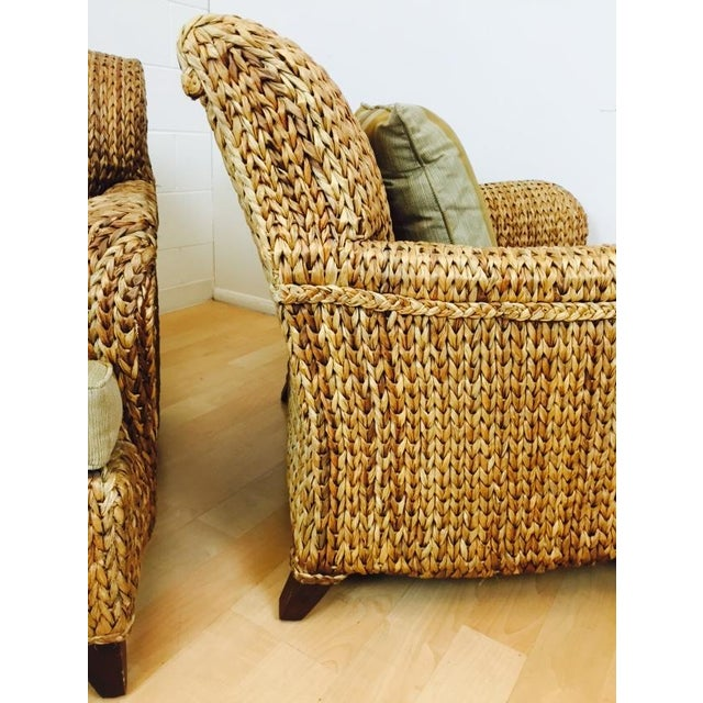 Image of Palecek Soleil Havana Lounge Chair - A Pair