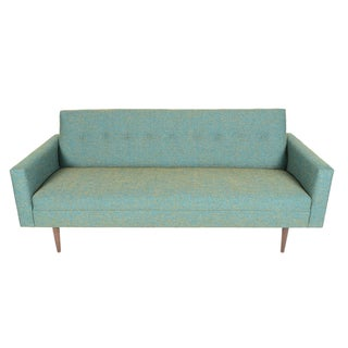 "Mid-Century Style ""Imperial"" Sofa in Turquoise"