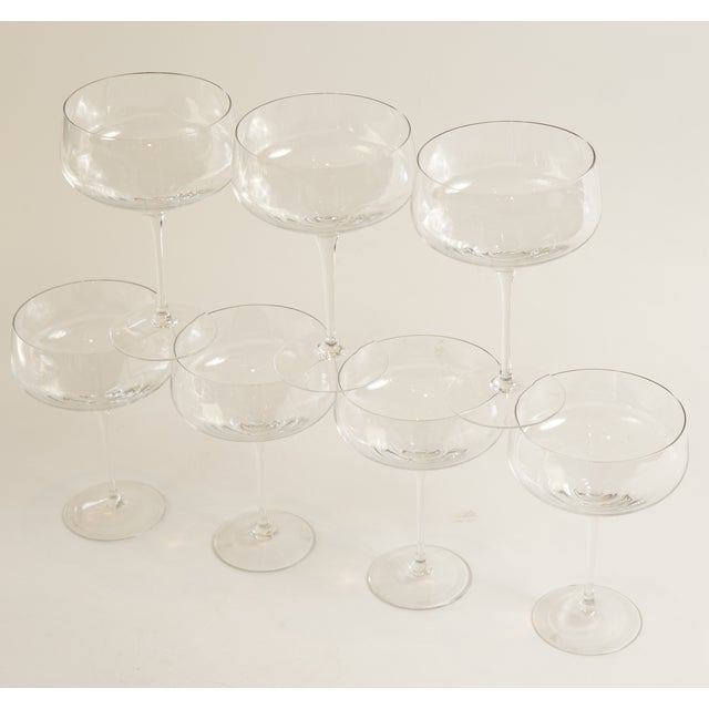 Vintage Rosenthal Crystal Stems - Set of 7 - Image 5 of 10