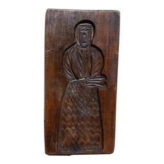 Antique Wooden Bread Board #2