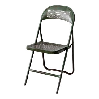 Vintage Metal Folding Chair