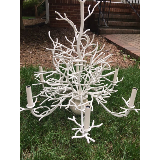 Image of Currey and Company Seaward Faux Coral Chandelier