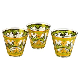 Vintage George Briard Cocktail Glasses - Set of 3