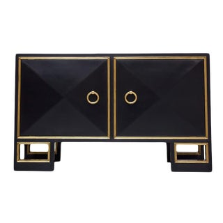 "Truex American Furniture ""St. Regis "" High Gloss Lacquered Cabinet"