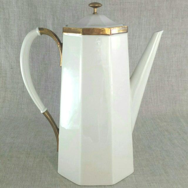 Geometric Octagonal Coffee Pot - Image 2 of 9