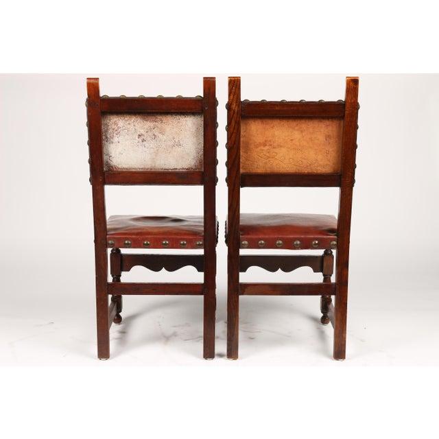 C.1900 Antique Spanish Chairs - A Pair - Image 3 of 9 - C.1900 Antique Spanish Chairs - A Pair Chairish