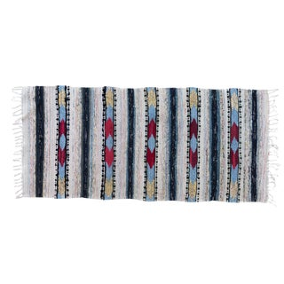 Vintage Scandinavian Handwoven Rug- 2′5″ × 5′3″