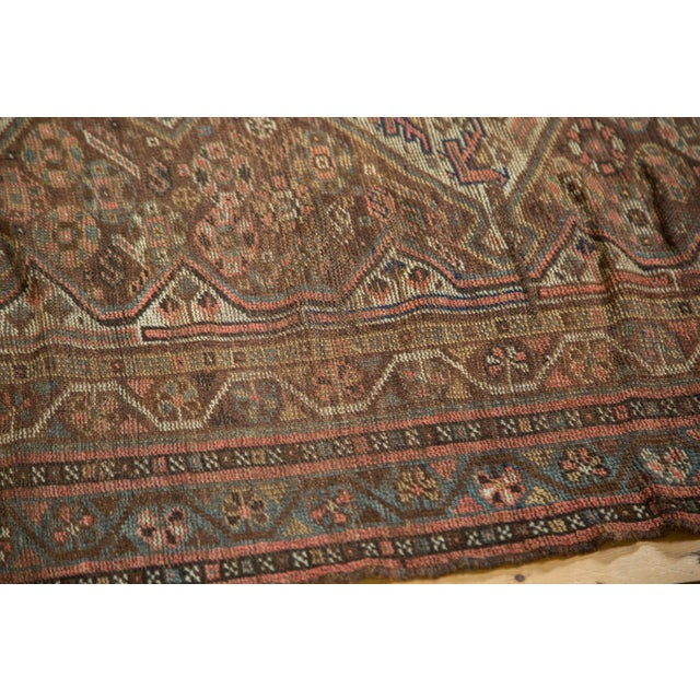 "Antique Kamseh Rug - 4'6"" x 6'8"" - Image 4 of 10"