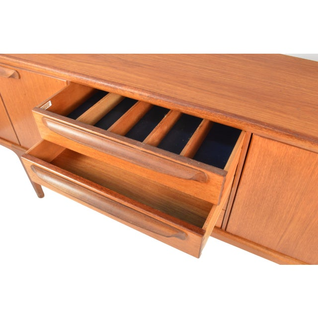 Image of Younger Mid Century Teak Credenza