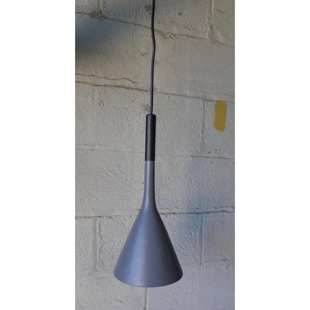 Modern Funnel Pendant Lamp - Image 2 of 6
