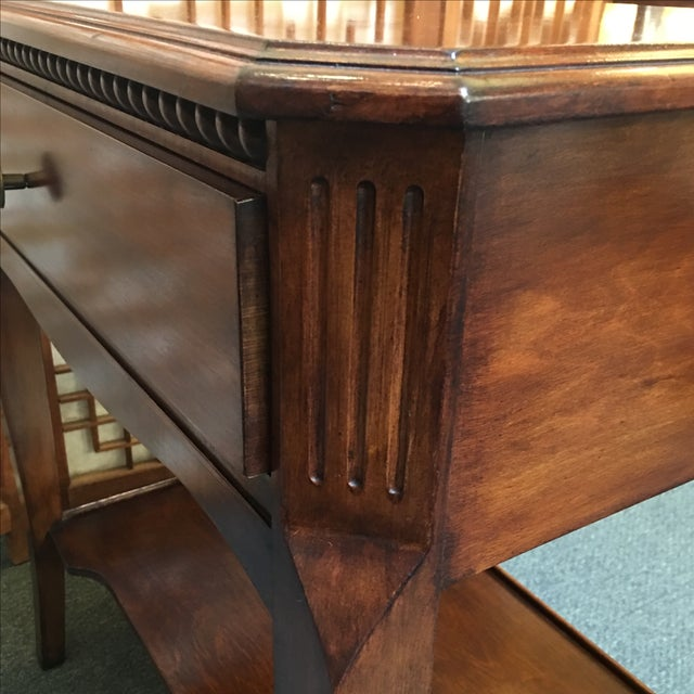 Custom John Logvy Tables - Pair - Image 5 of 10