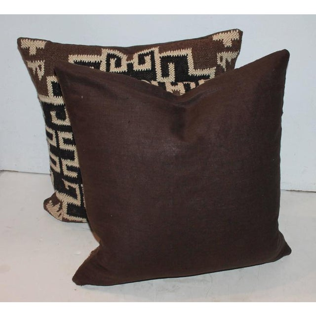 Image of Pair of Indian Weaving Pillows
