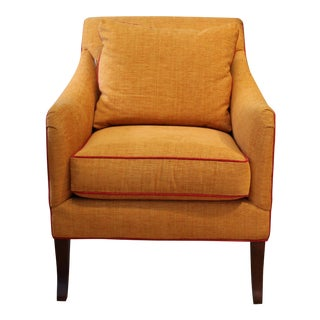 Orange Charleston Chair