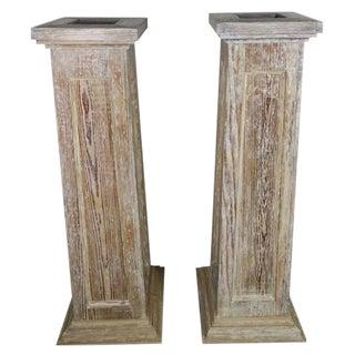 Swedish 19th Century Pedestals - A Pair