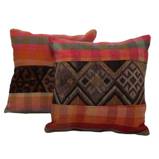 Handmade Kilim Pillow Covers- A Pair