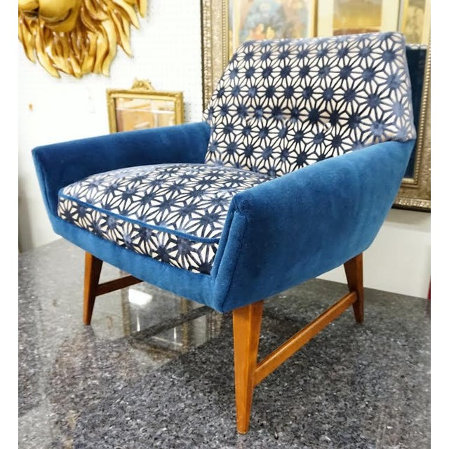 Modern Petite Club Chairs A Pair Chairish