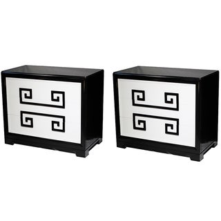 Kittinger Greek Key Chests - A Pair
