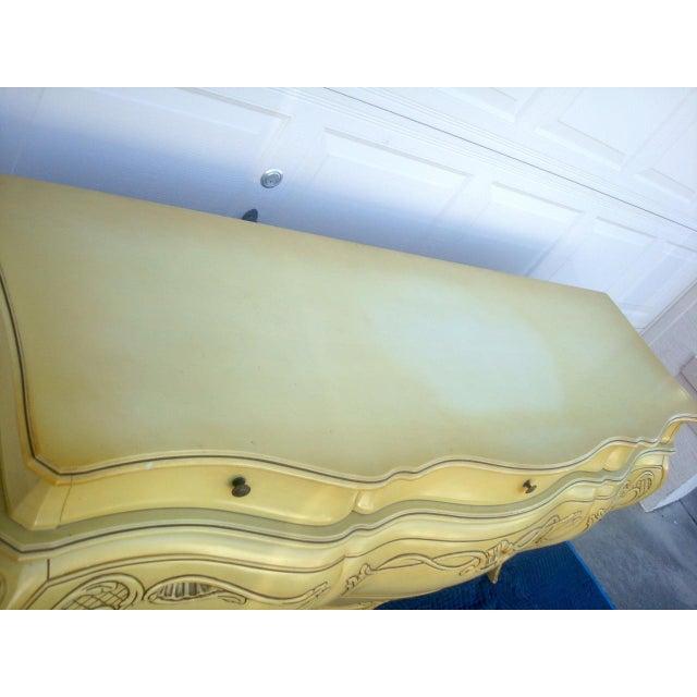 Genova Furniture Co. French Provincial Dresser - Image 7 of 10