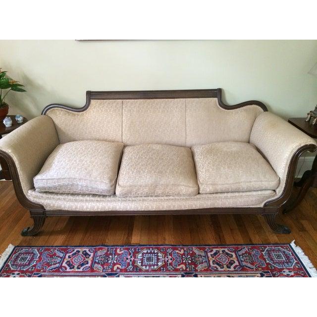 Duncan Phyfe Antique Sofa - Image 2 of 8