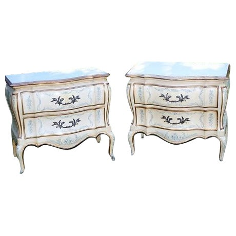 John Whittencomb French Nightstands - A Pair - Image 1 of 5