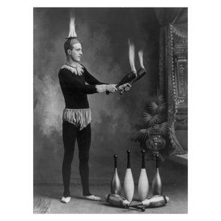 1800s Circus Print, The Man Who Lights My Fire