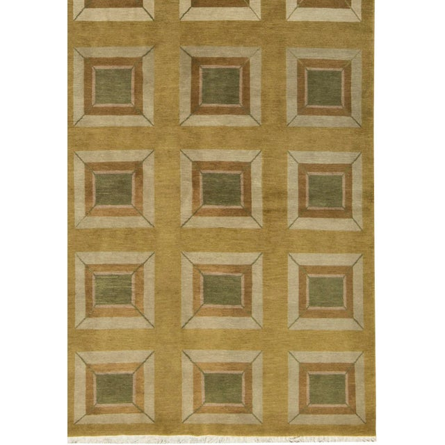 Contemporary Hand Woven Rug - 6' x 9' - Image 3 of 3