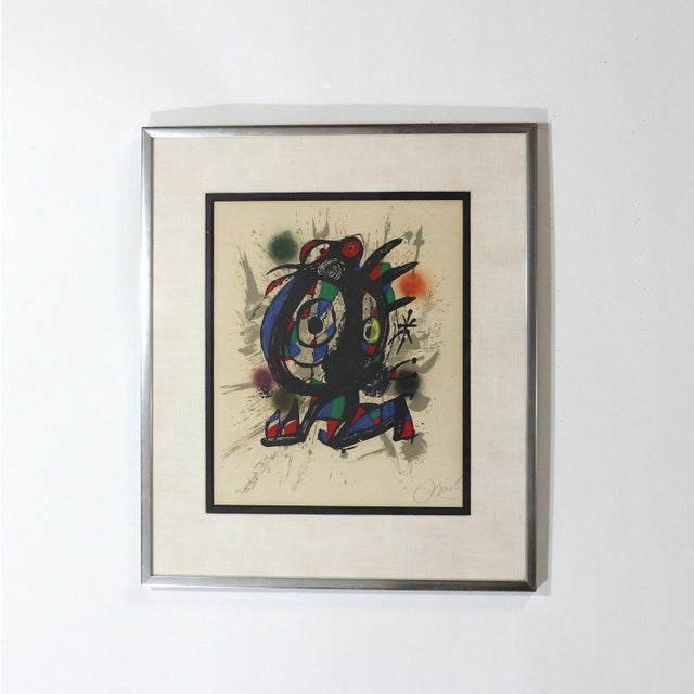 Image of 1960s Joan Miró Lithograph