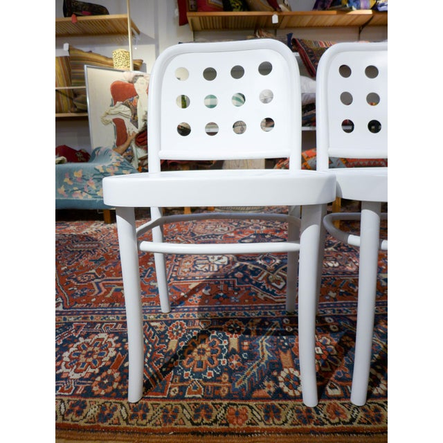 Bentwood & Ply Seat Dining Chairs - Set of 4 - Image 6 of 6