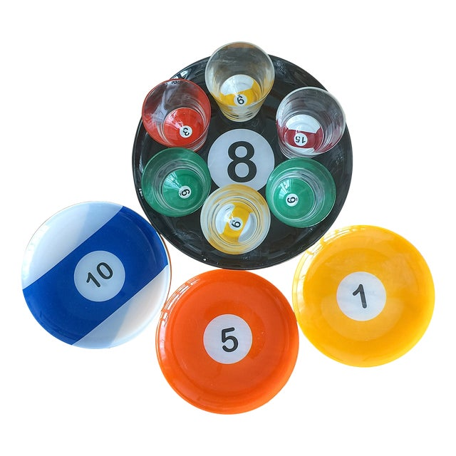 Billiard Ball Snack Set - 15 Piece Set - Image 1 of 3