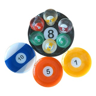 Billiard Ball Snack Set - 15 Piece Set