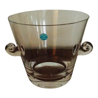Tiffany Glass Ice Bucket