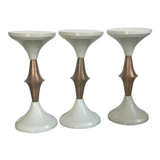 Vintage Hollywood Regency Side Tables - Set of 3