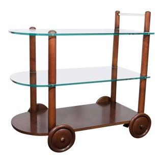 Art Deco Gilbert Rohde Bar Cart