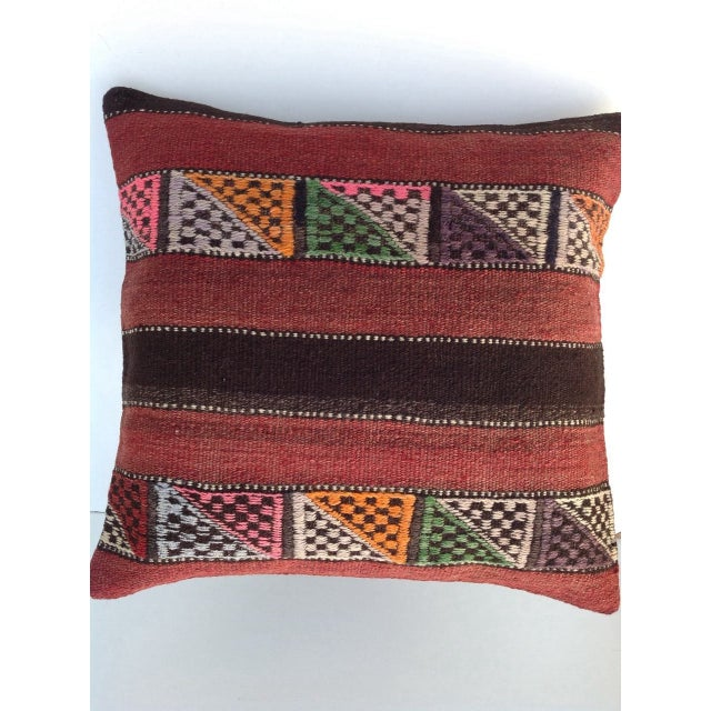 Turkish Kilim Pillow - Image 2 of 5