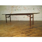 Image of Vintage Mid-Mod Walnut Conference or Dining Table