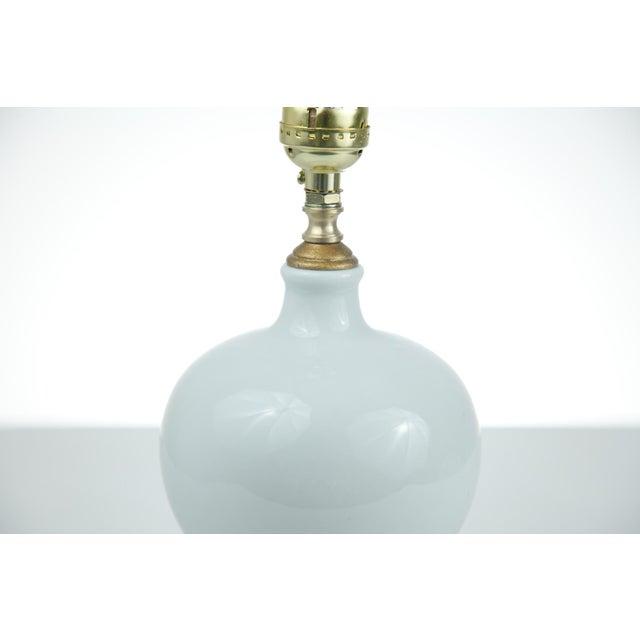 Image of Chinese White Porcelain Vase Lamp