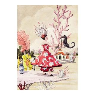"""The Seahorse"" Giclée Print"