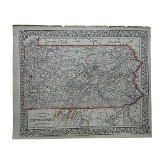 Antique Map of Pennsylvania