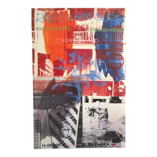 "Robert Rauschenberg ""Nightshades & Bourbons"" Offset Lithograph"