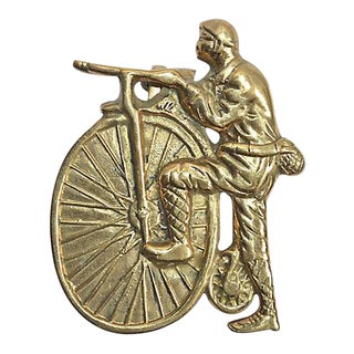 Penny Farthing Bicycle Vintage Door Knocker