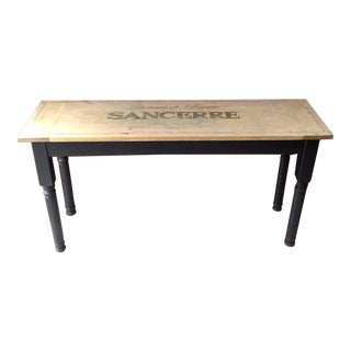 Wine Tasting Table Rustic-French
