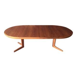 Vintage Danish Teak Extension Dining Table