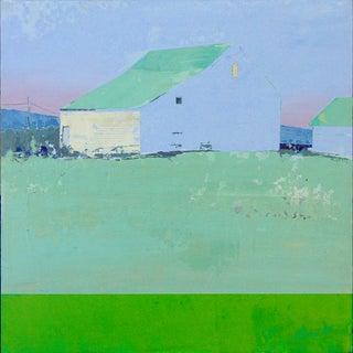"""Misty Morning"" Acrylic Painting"