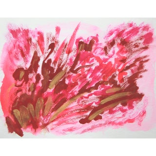 "Cleo Abstract Painting, ""Passion Flip #7"""