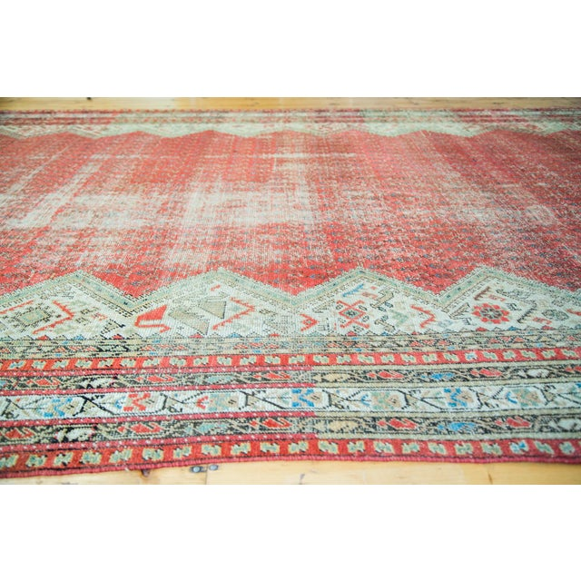 "Antique Persian Malayer Runner - 6'9"" x 15'10"" - Image 4 of 5"