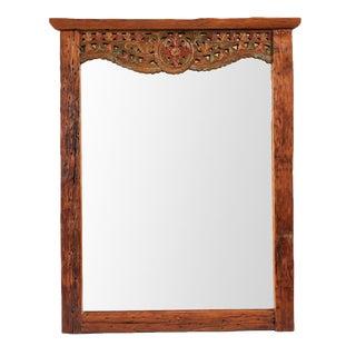 Vintage Balinese Mirror Frame