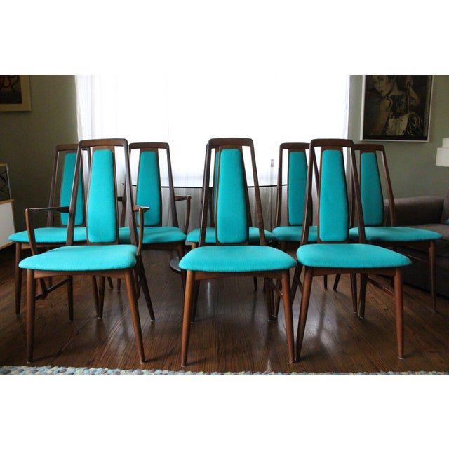 Image of Vintage 1969 Niels Koefoed Wood Dining Set