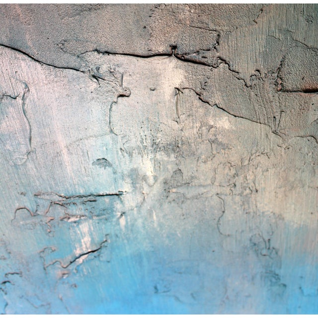 """Bronzed Earth"" Original Abstract Painting - Image 2 of 3"